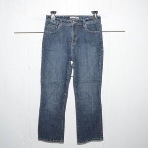 Chico's quartz womens jeans size 1 S 481